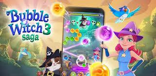 تحميل لعبة bubble witch saga 3 مهكرة